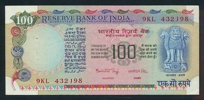 India: 1979 100 Rupees Signature 83. Pick 86b Cat UNC $40