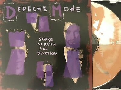 DEPECHE MODE - Songs Of Faith And Devotion + Live 2 x CD 1994 Aus Tour Ed 2CD