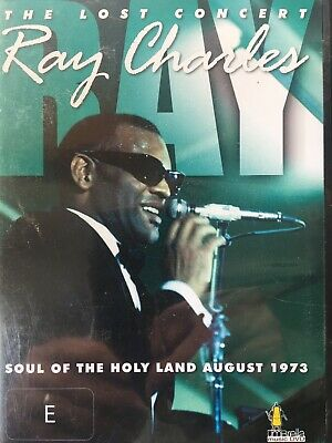 RAY CHARLES - The Lost Concert - Soul Of The Holy Land 1973 DVD Excellent Cond!