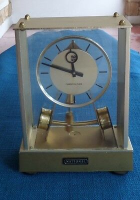 Vintage National Transistor Clock - Working Condition