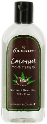 Coconut Moisturizing Oil, Cococare, 9 oz