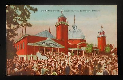 1910s? The British Section Canadian National Exhibition Toronto ON Canada PC