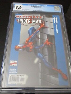 Ultimate Spider-Man #11 Mark Bagley Cover CGC 9.6 cert # 1235888017 (2001)