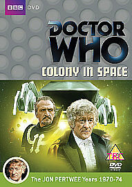 Doctor Who - Colony in Space  DVD Jon Pertwee is Dr Who  Baker BRAND NEW/SEALED,