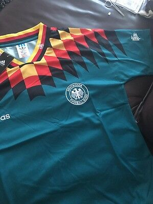 West Germany 1994 Away Shirt Medium Deutschland World Cup Amazing Quality