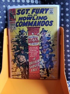 SGT. FURY AND HIS HOWLING COMMANDOS, Vol.1, #48 (MARVEL)
