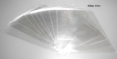 100 CELLO  CLEAR SELF SEAL 9 x 12 BAGS CRYSTAL 1.5 MIL POLYPROPYLENE STORAGE