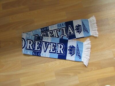 ZENIT St Petersburg Forever are Always with you Never Walk Alone FOOTBALL Scarf