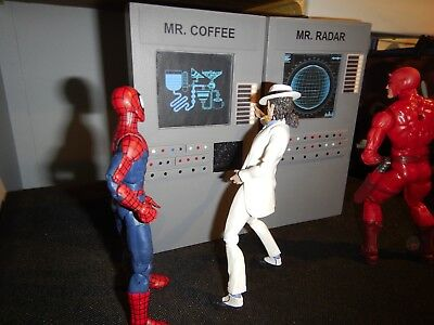 1/12 Scale Mr. Coffee and Mr. Radar Star Wars Playset for 1/12 Scale Diorama