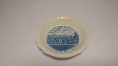 "Johnson Brothers The Old Dominion 5 1/8"" Fruit / Dessert Bowl Quebec Port Levis"
