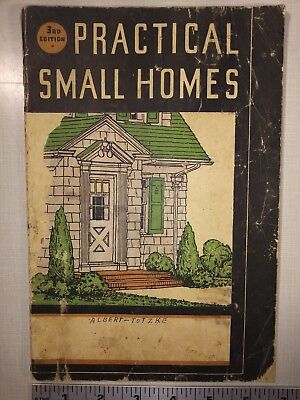 Practical Small Homes - Brown-Blodgett Co. - 1936 -House Plans - Architecture
