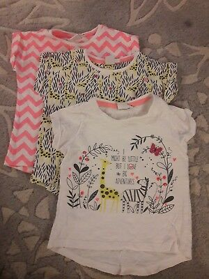 Girls t-shirts 12-18 months