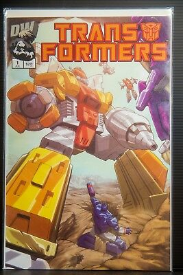 Transformers Generation 1 #1 (3rd Printing Cover) (2002) Dreamwave