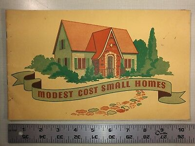 Mosest Cost Small Homes - American Lumberman - 1939 - House Plans Architecture