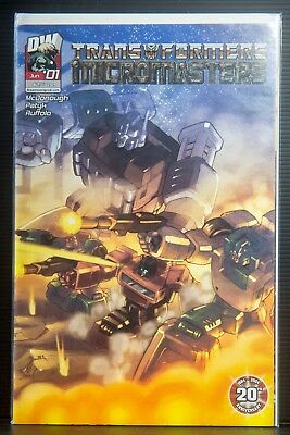 Dreamwave Transformers Micromasters #1 Pat Lee cover