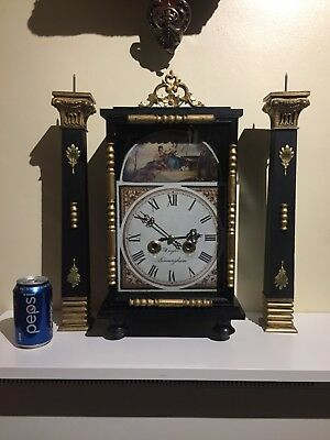 Vintage Clock Set Garniture. c1970.