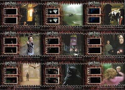 Artbox Harry Potter and the Prisoner of Azkaban Filmcell Cell Filmcard 9 Set CFC
