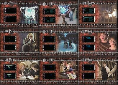 Artbox Harry Potter and the Goblet of Fire Filmcell Cell Filmcard 9 Set CFC