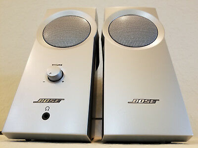 BOSE COMPANION 2 Two II Series 1 One I MULTIMEDIA SPEAKER SYSTEM