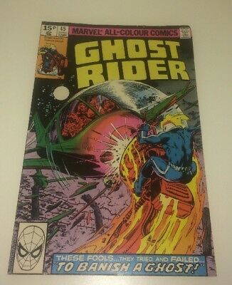 Ghost Rider #45,  Marvel Comics ~ Retro Collectable ~ Comic Book