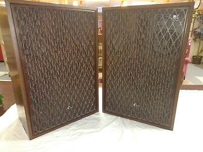 Pair Of Vintage Sansui Sp-5500 X 5-Way Speakers Good Shape Tested.