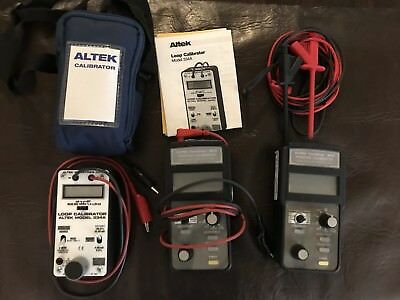 3 Altek Calibrators 2-Tech Chek 820 1 -334A New And Used Thermocouple Process