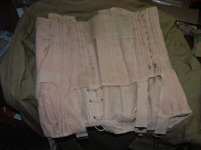 Vintage 1950's Open Bottom Girdle Large Size