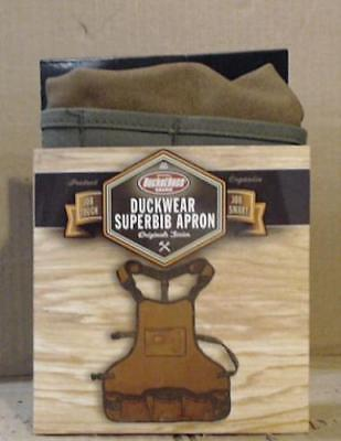 "NEW Bucket Boss 80200 Duckwear SuperBib Apron fits up to 52"" waists"