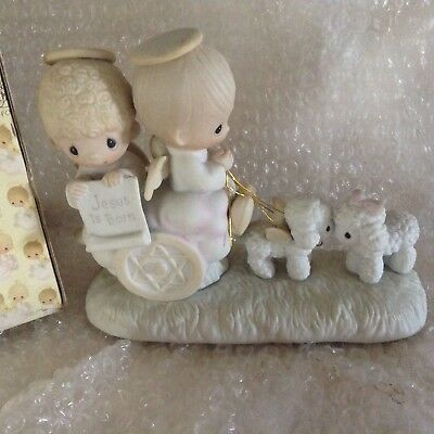 Precious Moments-Angels In Chariot-EXTREMELY RARE, 1979 with Original Box!