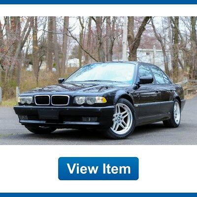 BMW 7-Series Real M Sport Package Serviced Navi Southern CARFAX 2001 BMW 740i Real M Sport Package Serviced Low 93K mi Navi Southern CARFAX!