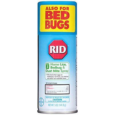 Rid Home Lice Control Spray, Lice Control System, 5 Ounces (3 Packs)