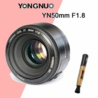 YONGNUO YN50mm F1.8 Lens Large Aperture Auto Focus Lens FOR Canon EOS Camera+PEN
