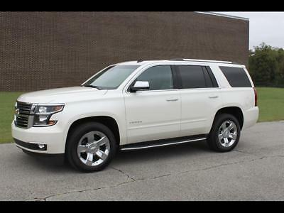 Tahoe LTZ White Diamond Tricoat Chevrolet Tahoe with 39,534 Miles available now!