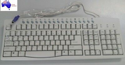 PS2 Keyboard Brand New High Quality Beige Colour Waterproof