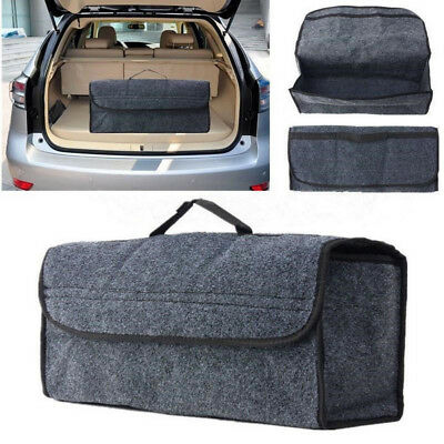 Trunk Organizer Foldable Car Storage Bag Collapsible Cargo Box Portable SUV Auto  sc 1 st  PicClick & TRUNK ORGANIZER FOLDABLE Car Storage Bag Collapsible Cargo Box ...