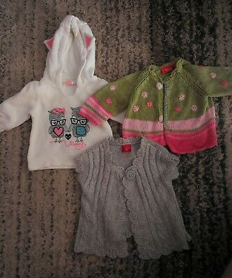 Size 00 girls jumpers - Roxy/ Pumpkin Patch/ Sprout.
