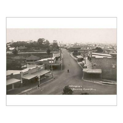 """10""""x8"""" (25x20cm) Print of Wollongong, Australia from"""