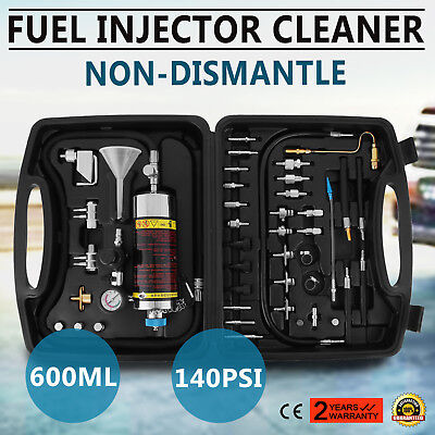 Auto C100 Automotive Non-Dismantle Fuel System Injector Cleaner for Petrol EFI