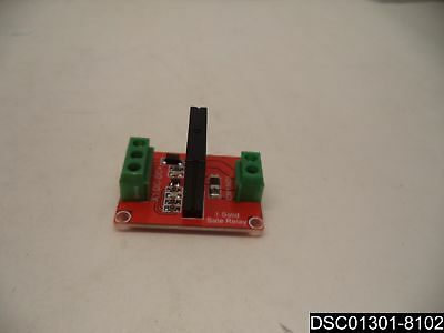 KNACRO 1-way High-level Solid State Relay Modules Red Board DC 24V AC 240V