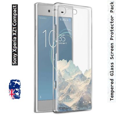 SONY XPERIA XZ1/XZ2/COMPACT Transparent THIN CASE Clear Soft