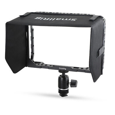"""SmallRig Monitor Cage with Sunhood for Blackmagic Video Assist 7"""" Monitor-UK"""