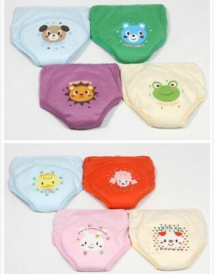 4X Toddler 4 Layers Waterproof Potty Training Pants 4 Size Random Color
