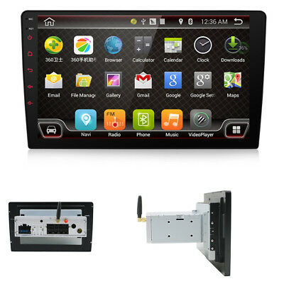 "9"" 1 DIN Car Radio Video Player GPS Navigation Mirror Link Bluetooth  Android7.1"