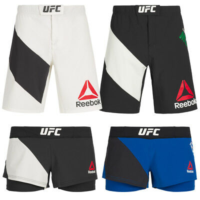 Reebok UFC Fight Kit Octagon Shorts Kampfshort Kampfsport MMA Conor McGregor neu
