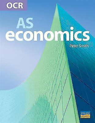 OCR AS Economics, Peter Smith, Very Good Book