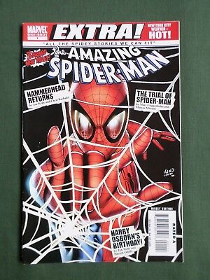 "Amazing Spider Man -"" Extra "" Marvel Comic -Sept 2008  - #1 Vg"