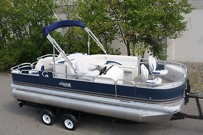 New 20  fish and fun Grand Island pontoon boat