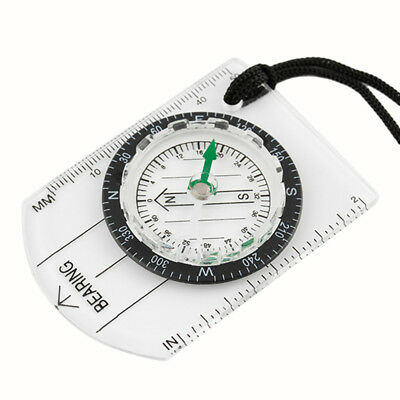 Compass Portable Outdoor Camping Hiking Pocket Keychain Navigation Travel MN3