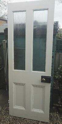 Victorian half glazed door