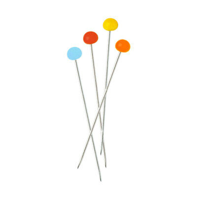 Milward 2113117 | Glass Headed Pins | Straight | Assorted | 30 x 0.6mm | 1000